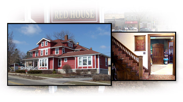 Photos of The Red House, West Bend Wisconsin